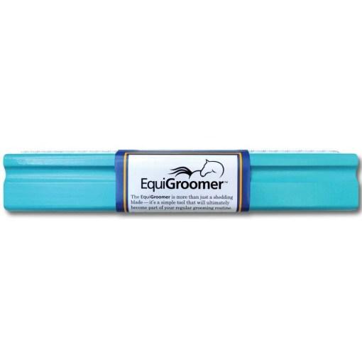 "Brosse EquiGroomer - 9"" L 25cm - Turquoise - 1000x1000"