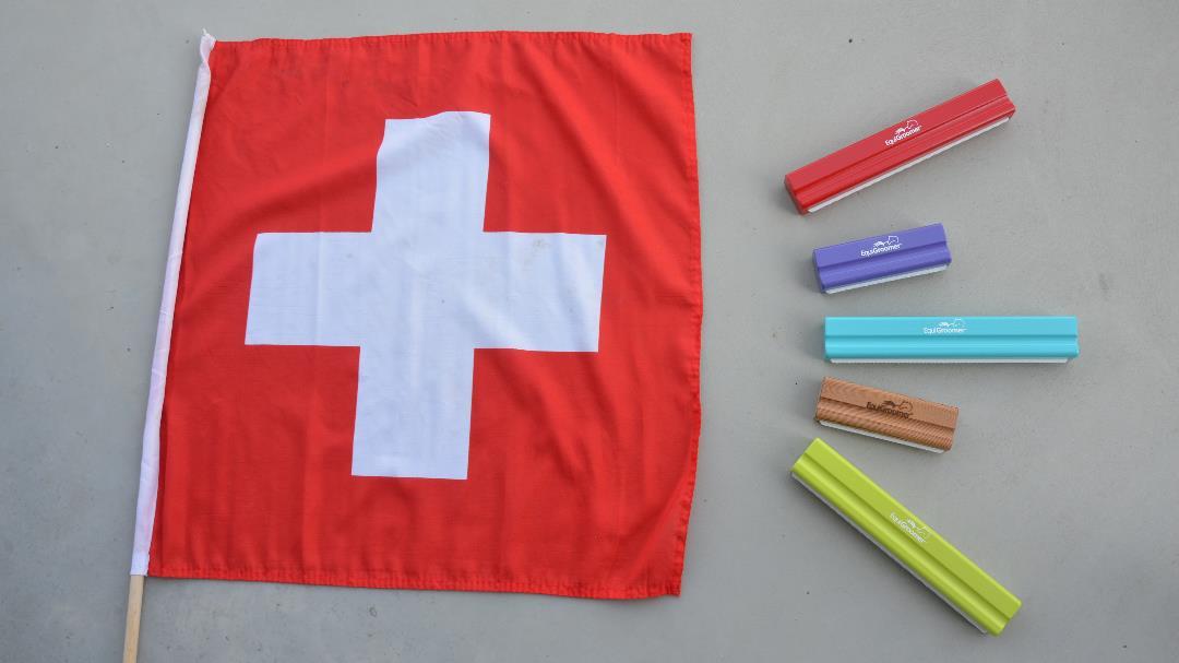 Brosses EquiGroomer en Suisse : EquiWiki devient l'importateur officiel