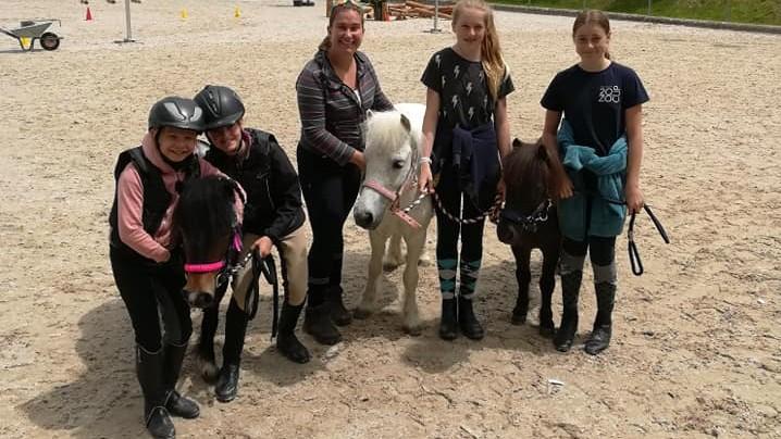 équipe La Foule horseathlon juin 2019 Planfayon