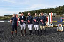 RAF interstation horse riding competition