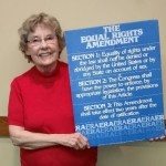 Roberta Madden, co-chair of Ratify ERA NC