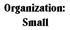 Small Organization