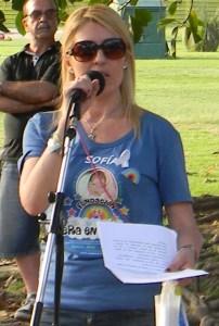 Jessica Ruidiaz Presidenta Fundación Era en Abril