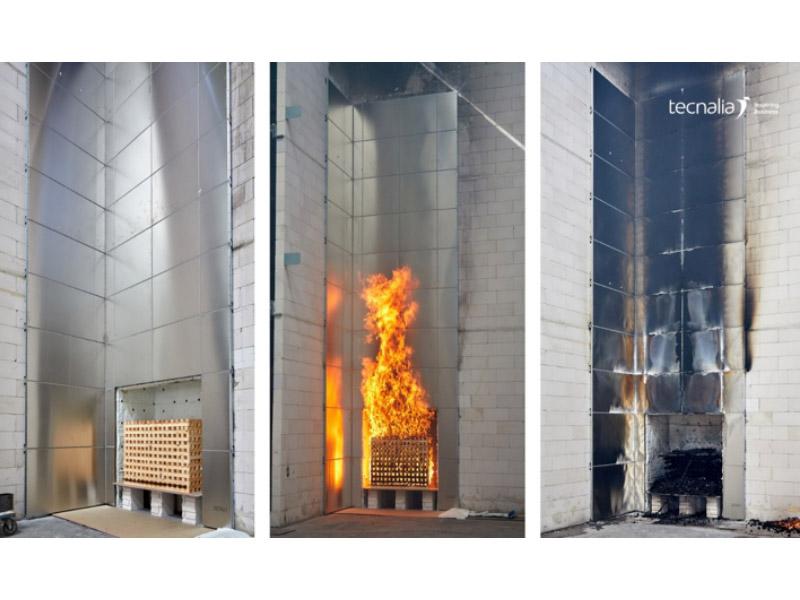 TECNALIA presentará en FIREX 2019 (Londres) su nuevo Laboratorio de Ensayos de Fuego a Gran Escala para Fachadas