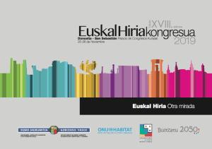 XVIII Congreso EuskalHiria @ Palacio de Congresos - Kursaal
