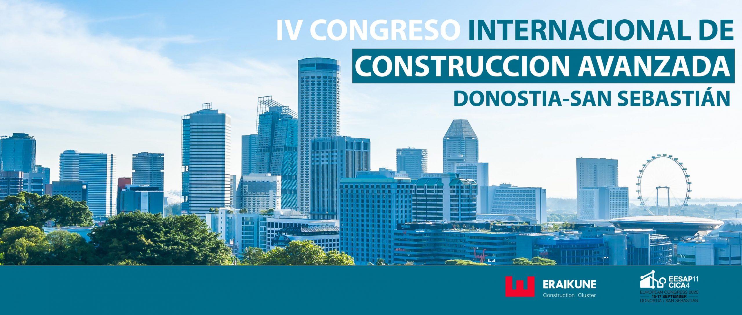 IV Congreso Internacional de Construccion Avanzada - Donostia - San Sebastian