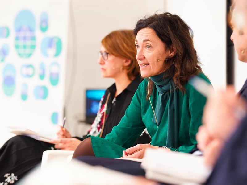 Cristina Oyón, responsable de Iniciativas Estratégicas del Grupo SPRI y miembro del grupo de expertos creado por la Comisión Europea para planificar la industria europea en 2030