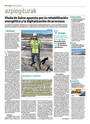 Viuda de Sainz apuesta por la rehabilitación energética y la digitalización de procesos