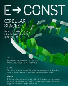 """Jornada """"Medioambiente, palanca de competitividad para el sector de la Construcción"""" @ Sala Z del Centro cultural Tabakalera"""