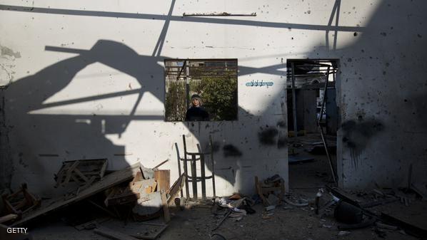 PALESTINIAN-ISRAEL-CONFLIT-GAZA