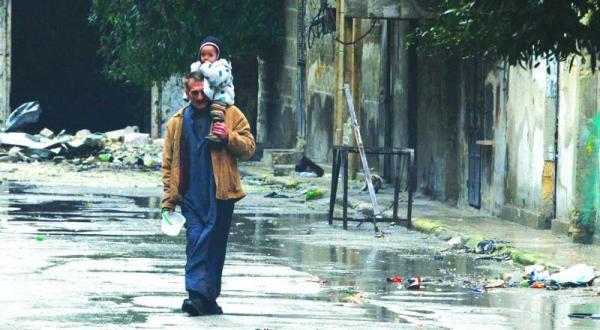 pengungsi suriah lebanon 1