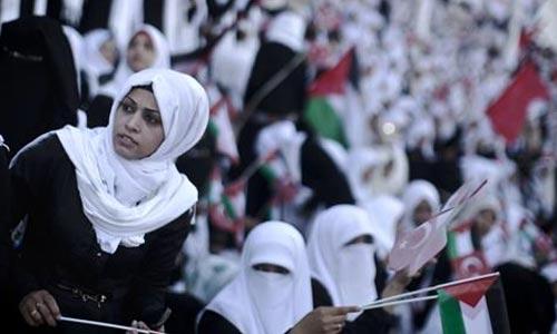 pernikahan massal di Gaza 3