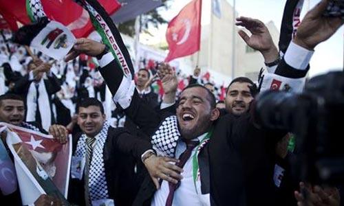 pernikahan massal di Gaza 4