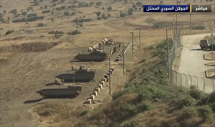 latihan militer Israel