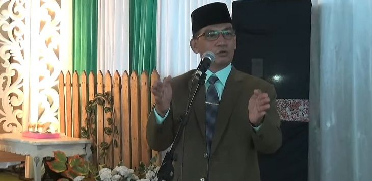 Anggota DPRD Kabupaten Bantul dari Partai Bulan Bintang Supriyono sebut pemakaman pasien Covid-19 seperti memakamkan anjing. Foto repro Youtube
