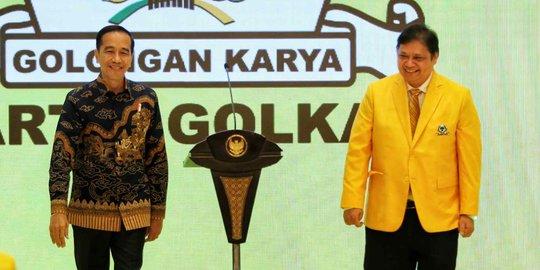 Jokowi: Golkar Goncangnya Dikit, Pemerintahnya Ikut Goncang Dikit | merdeka.com