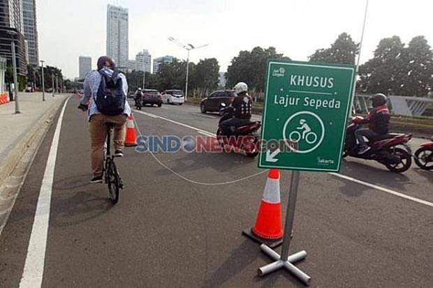 Fadli Zon: Jalur Sepeda di Jakarta Sudah Bagus, Jangan Dibongkar