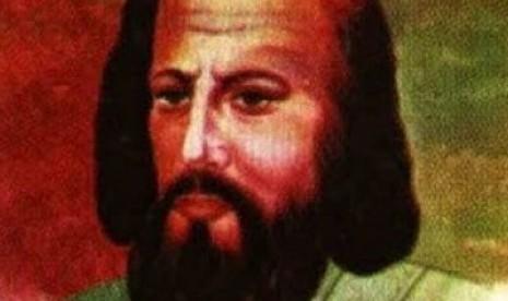 Imam Ghazali menemukan kegelisahannya saat berada di puncak karier. Ilustrasi wajah Imam Al-Ghazali.