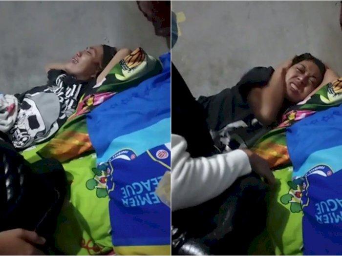 Wanita Ini Nangis Histeris Usai Divaksin AstraZeneca, Badan Mati Rasa, Tak Ditanggung BPJS