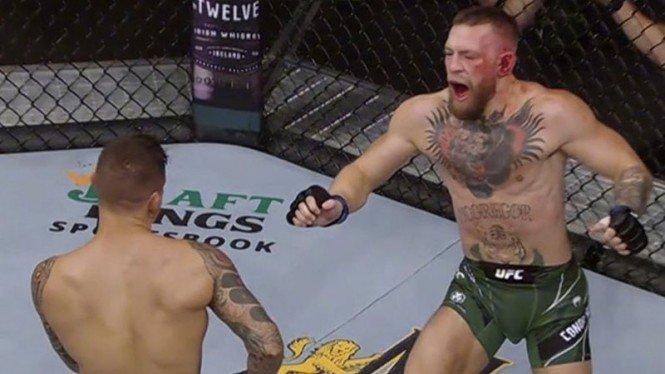 Conor McGregor alami insiden patah kaki di UFC 264