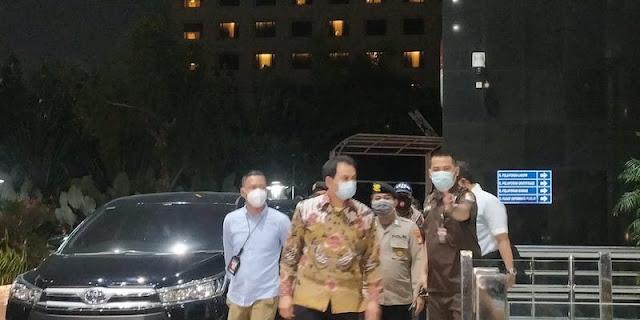Usai Ditangkap, Aziz Syamsuddin Langsung Digarap KPK