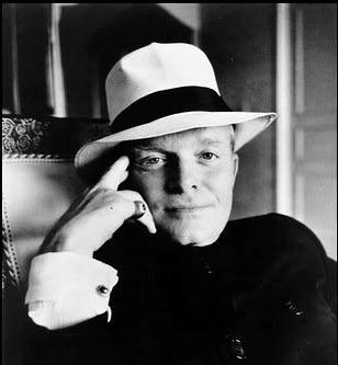 sonrisa social de Truman Capote