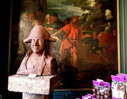 Napoleón tenía un palacio... DE CHOCOLATE!!