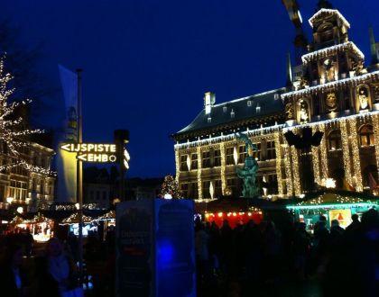 Winter in Antwerpen!!