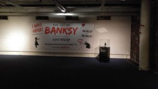 """The Art of Banksy"" Exhibition - 20170202 183656 min 300x169 - ""The Art of Banksy"" Exhibition"