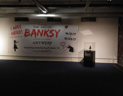 """""""The Art of Banksy"""" Exhibition"""