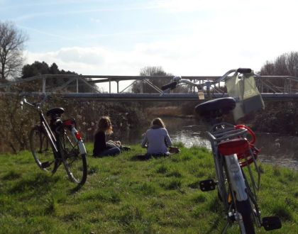 Bicicleteando suave