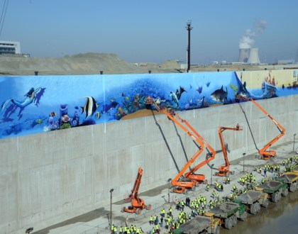 La esclusa más grande del mundo está en Amberes |  Kieldrecht Lock