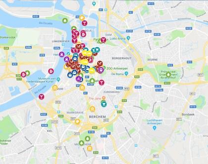 Mi mapa de Amberes y Flandes