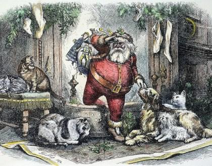 La historia de Santa Claus... O mejor dicho, Sainterklas