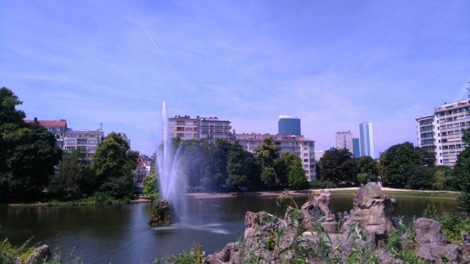 rutas ciclistas por bruselas (i) - Parque Marie Louise - Rutas ciclistas por Bruselas (I)