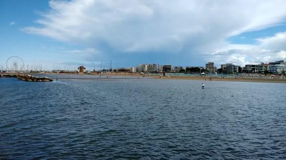 Widok na Morze Adriatyckie w dzielnicy San Guliano