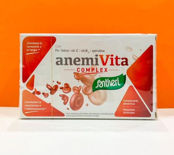 Capsule - anemivita - Santiveri | Erboristeria Erbainfusa Como | Shop Online