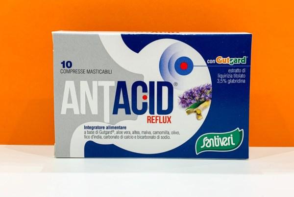 Compresse - antiacid - Santiveri   Erboristeria Erbainfusa Como   Shop Online