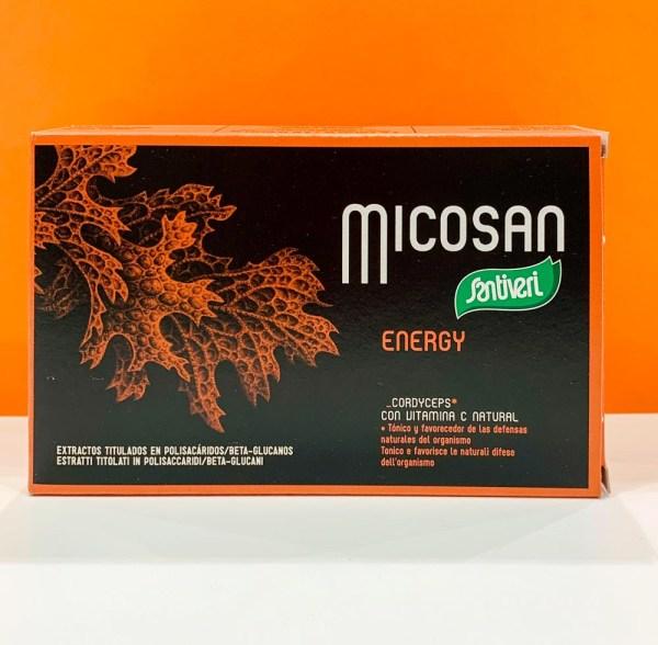 Compresse - micosan energy - Santiveri | Erboristeria Erbainfusa Como | Shop Online