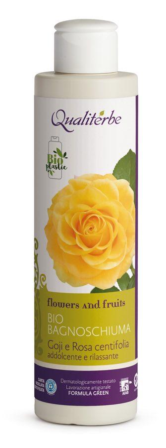 Bio bagnoschiuma addolcente e rilassante al Goji e alla Rosa centifolia - Qualiterbe | Erboristeria Erbainfusa Como | Shop Online.jpeg
