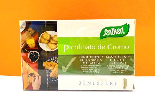 Capsule - Picolinato di cromo - Santiveri   Erboristeria Erbainfusa Como   Shop Online