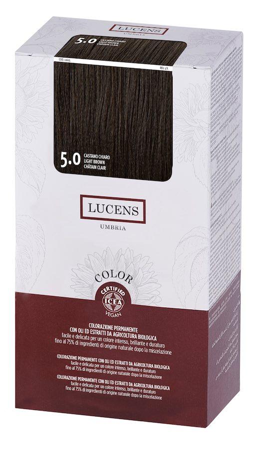 Colore naturale capelli - 5.0 castano chiaro - Lucens Umbria | Erboristeria Erbainfusa Como | Shop Online