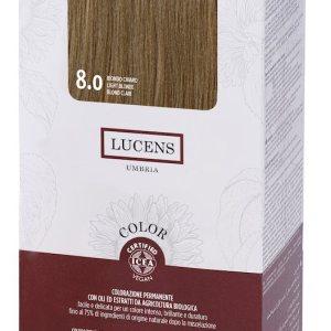 Colore naturale capelli - 8.0 biondo chiaro - Lucens Umbria | Erboristeria Erbainfusa Como | Shop Online