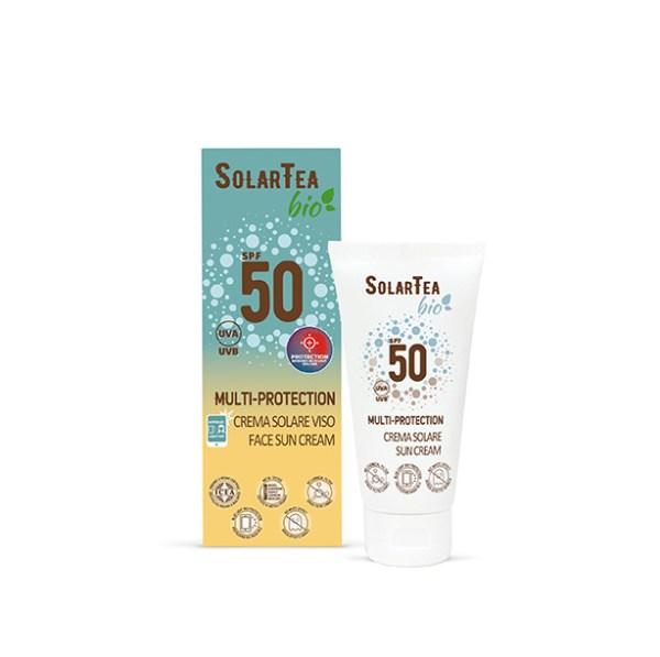 Crema solare Multi Protection SPF 50 - Bema Cosmetici | Erboristeria Erbainfusa Como | Shop Online