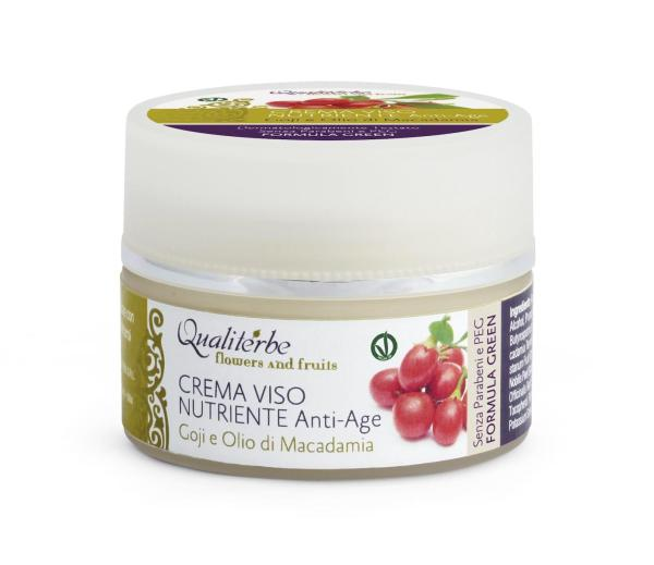 Crema viso nutriente antiage - Qualiterbe | Erboristeria Erbainfusa Como | Shop Online