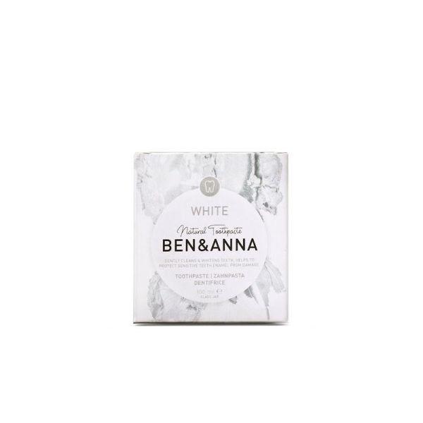 Dentifricio - white - confezione - Ben & Ann | Erboristeria Erbainfusa Como | Shop Online