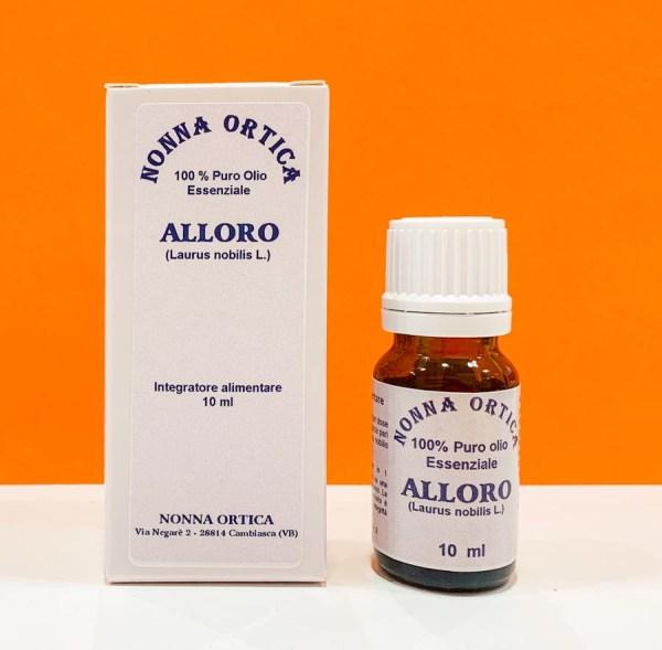 Olio essenziale - alloro - Nonna Ortica | Erboristeria Erbainfusa Como | Shop Online