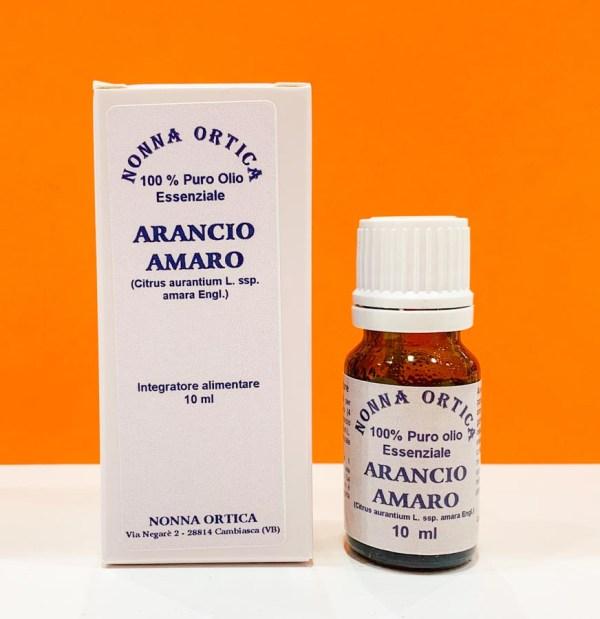 Olio essenziale - arancio amaro - Nonna Ortica | Erboristeria Erbainfusa Como | Shop Online