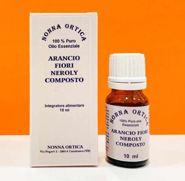 Olio essenziale - arancio fiori neroly composto - Nonna Ortica | Erboristeria Erbainfusa Como | Shop Online