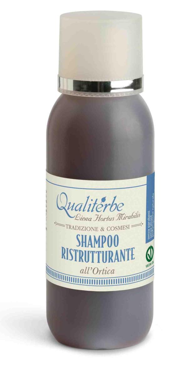 Shampoo ristrutturante al succo di ortica - Qualiterbe   Erboristeria Erbainfusa Como   Shop Online